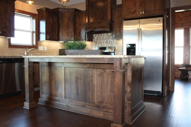 kitchen cabinets knotty alder custom knotty alder cabinets mc custom homes 6173